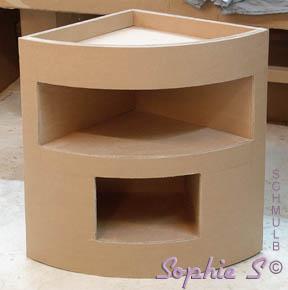 Fabriquer un meuble d'angle