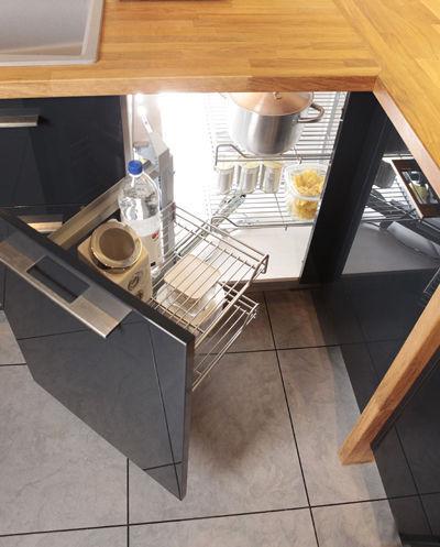 Rangement meuble d'angle cuisine leroy merlin