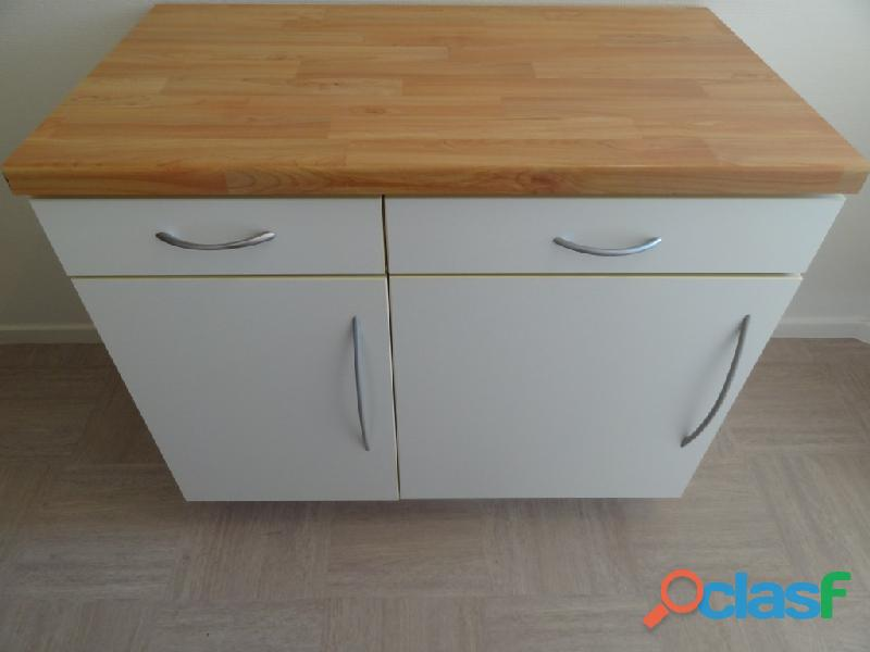 meuble de cuisine avec plan de travail pas cher - tendancesdesign.fr