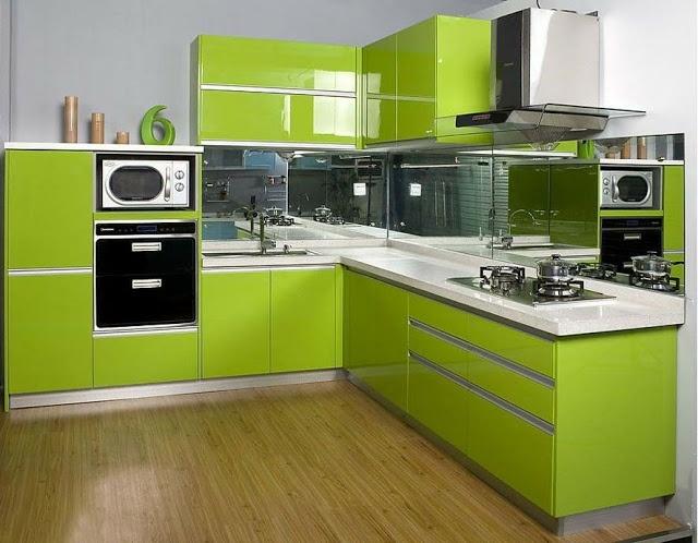 Modele de cuisine verte