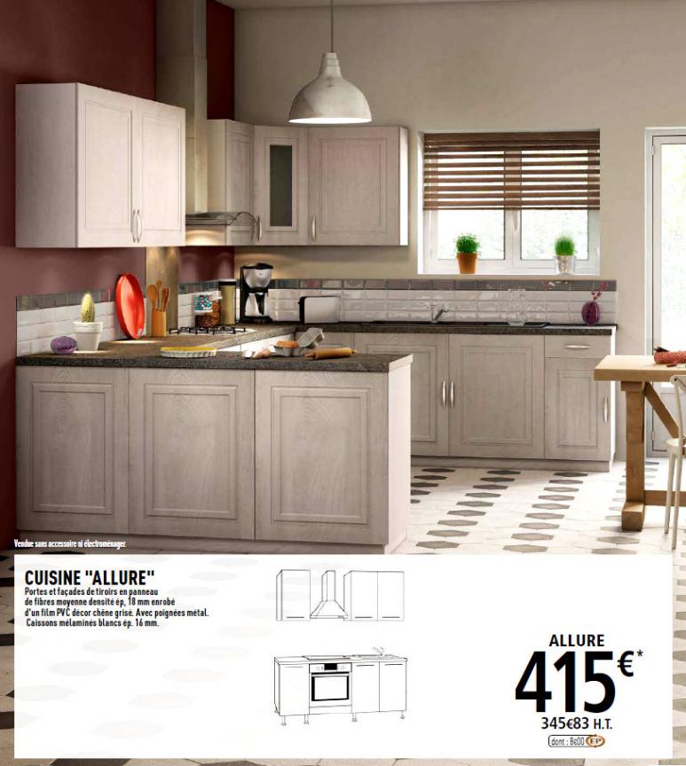 meuble d'angle de cuisine brico depot  tendancesdesignfr