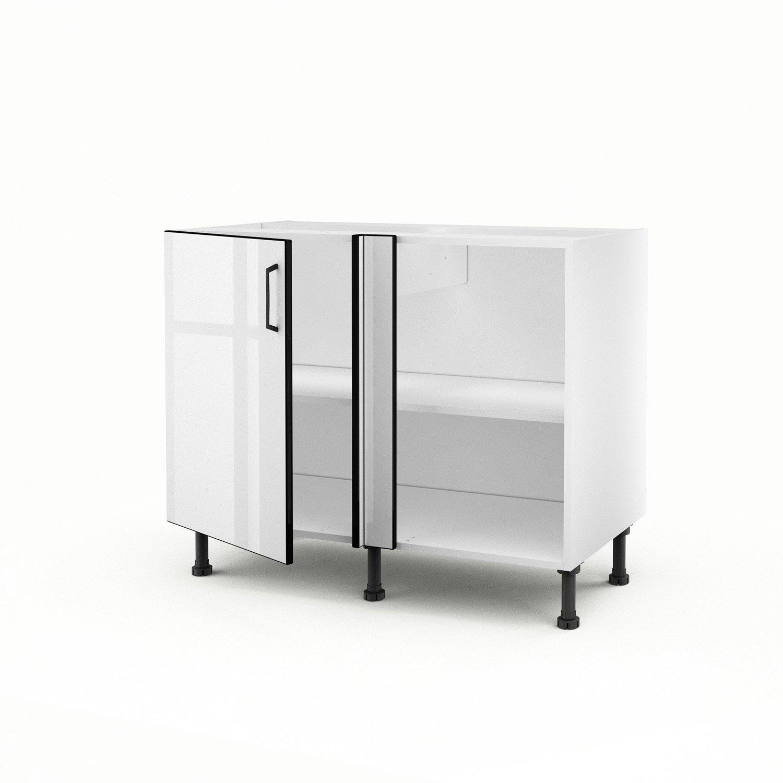 Montage meuble d'angle cuisine delinia