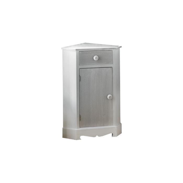 Meuble d'angle wc