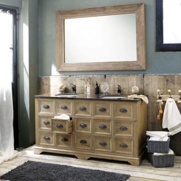 Beautiful Meuble Vasque Salle De Bain Retro Images - House Design ...