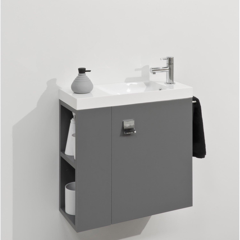 Meuble lave-mains d'angle decotec jazz