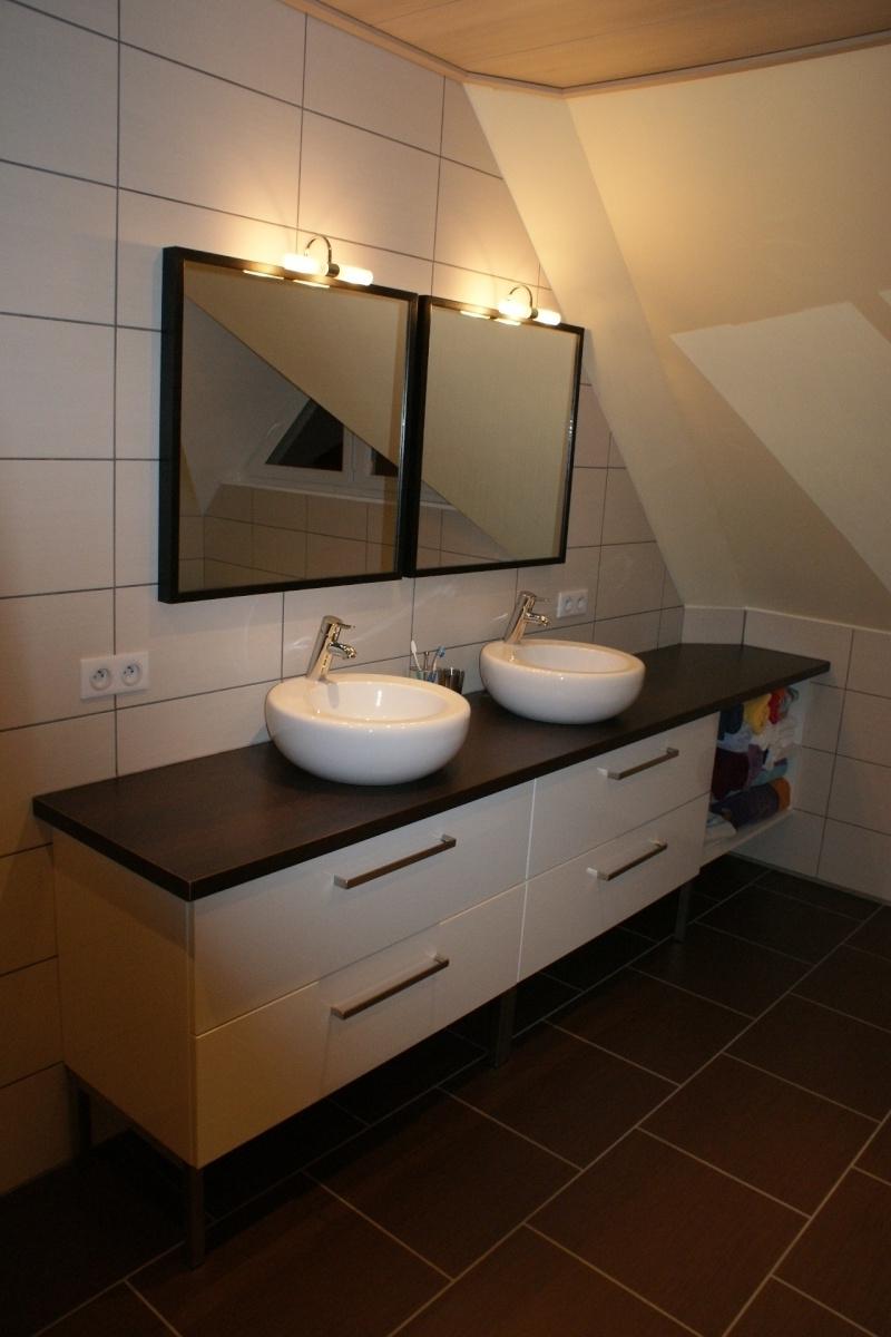 Meuble salle de bain ikea avec plan de travail - tendancesdesign.fr