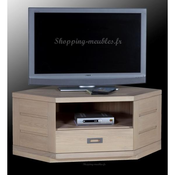 Meuble de tv d'angle moderne