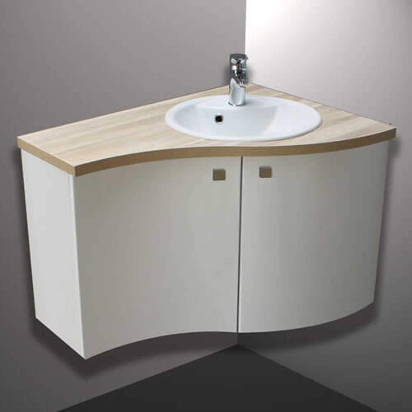 lavabo d 39 angle salle de bain avec meuble. Black Bedroom Furniture Sets. Home Design Ideas