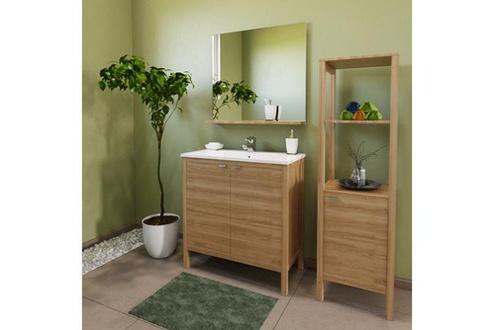 Meuble haut salle de bain 3 portes