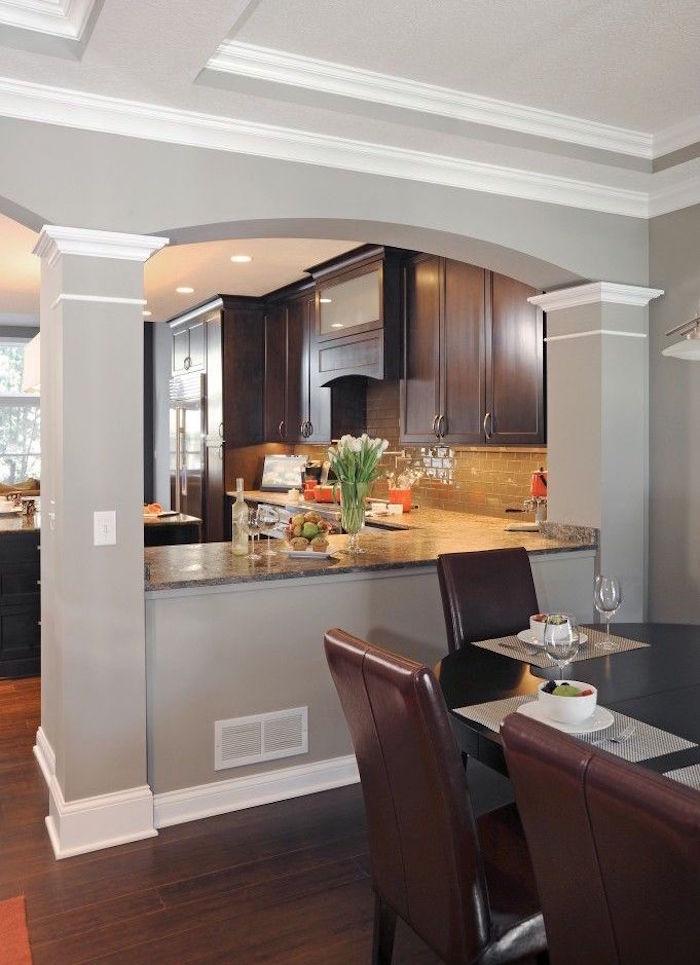 modele de cuisine ouverte sur sejour. Black Bedroom Furniture Sets. Home Design Ideas