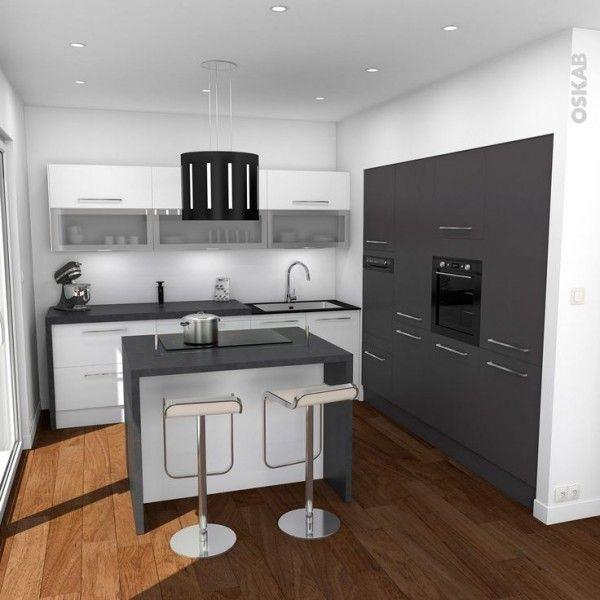 Petite cuisine moderne ouverte