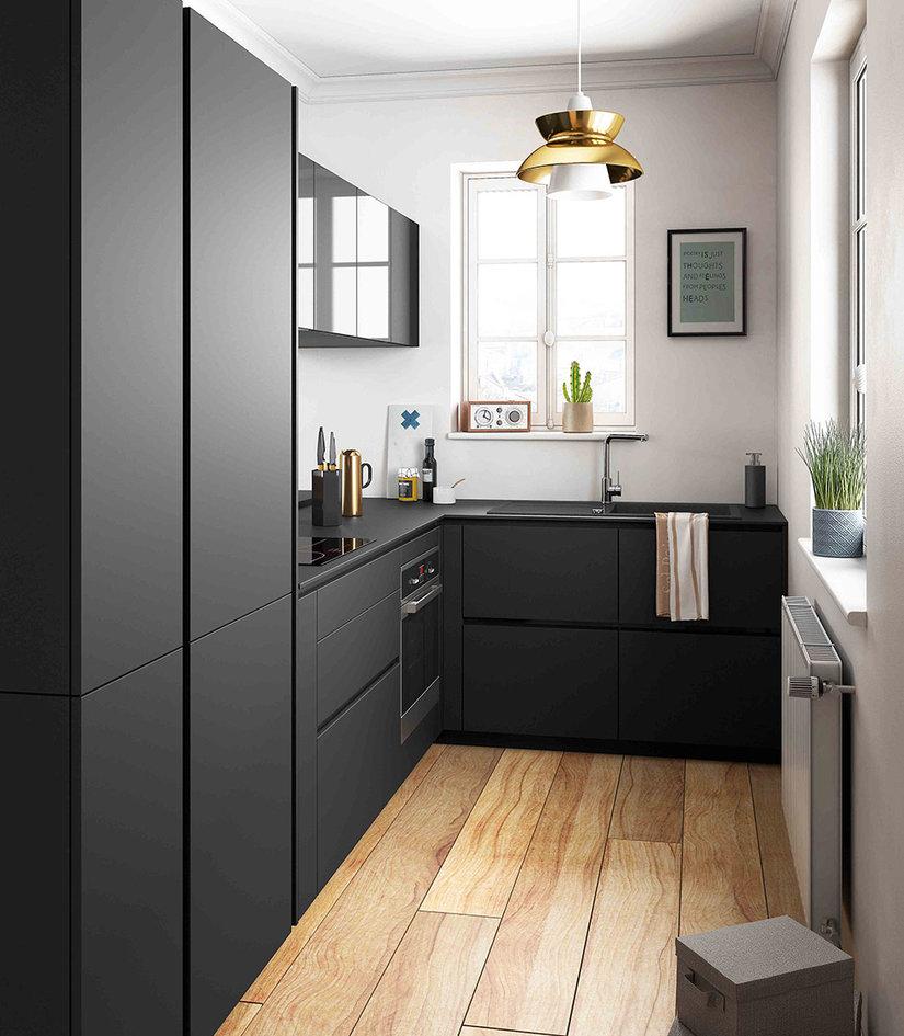 Modele de cuisine noire
