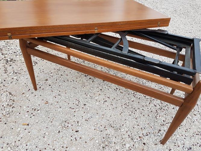 Table basse haute scandinave