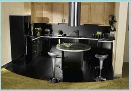Modele petite cuisine appartement