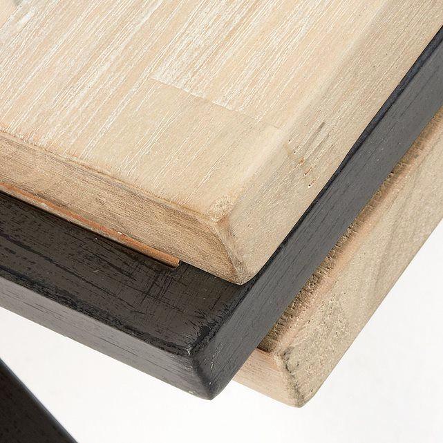 plan de travail acacia 3m. Black Bedroom Furniture Sets. Home Design Ideas