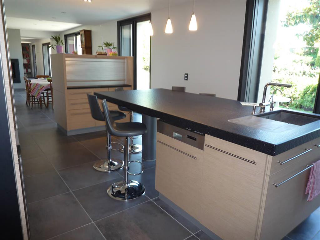 Table haute cuisine moderne