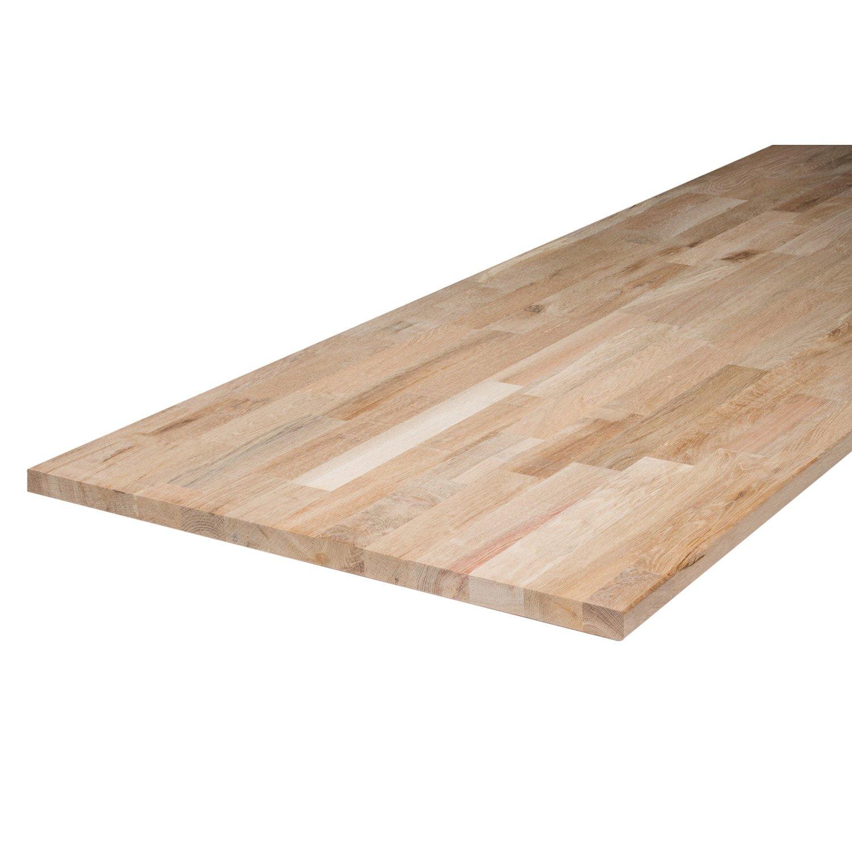 Plan de travail bois massif 80 cm
