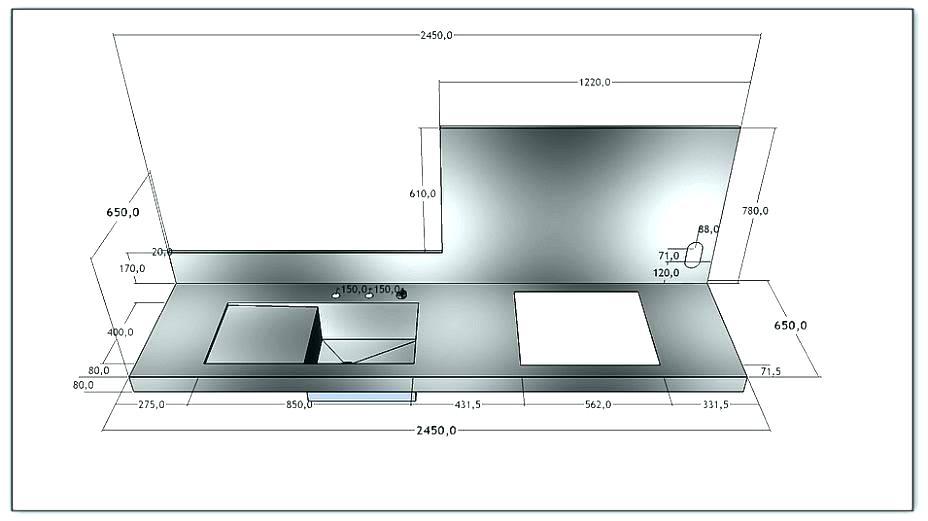 Plan de travail cuisine profondeur 80 cm - Plan de travail 80 cm largeur ...