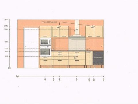 Plan installation electrique cuisine
