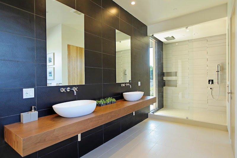 Idee de plan de travail pour salle de bain