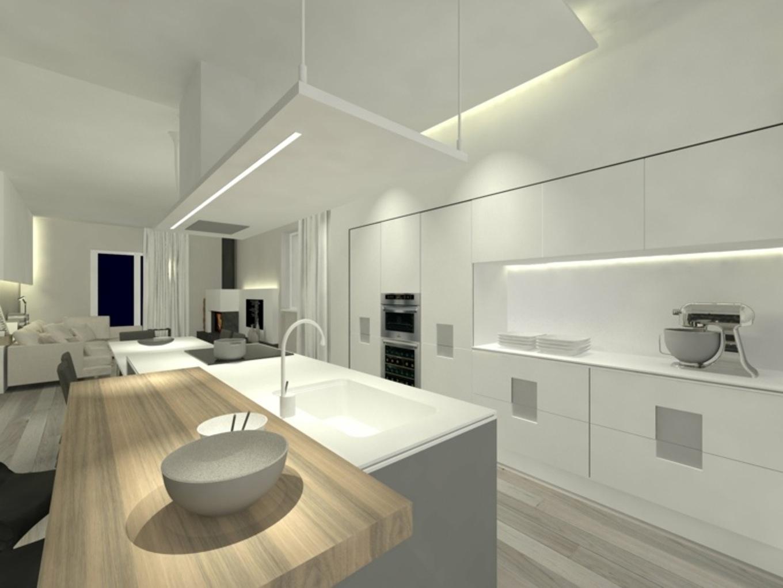 Peinture pour cuisine blanche et bois - Peinture pour cuisine blanche ...