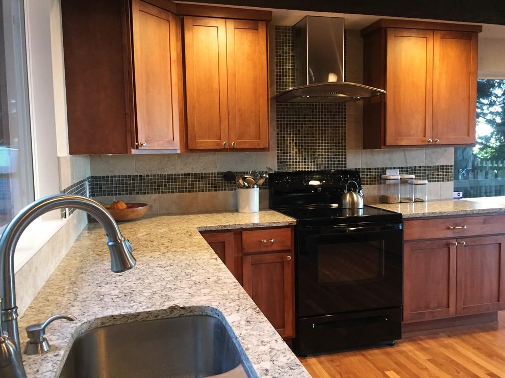 Plan de travail granit sur cuisine ikea