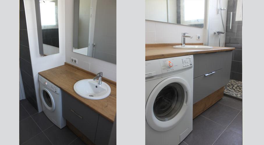 Plan de travail salle de bain 40 cm
