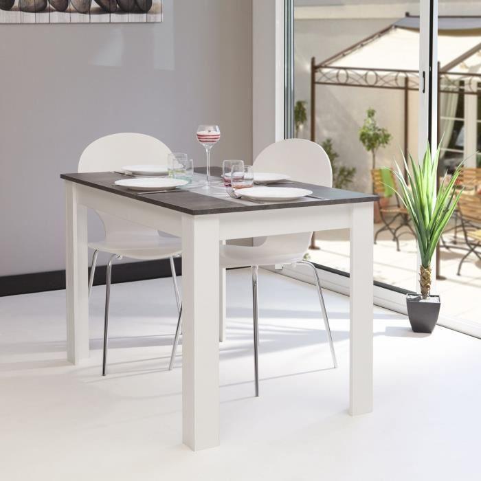 Table de cuisine moderne bois