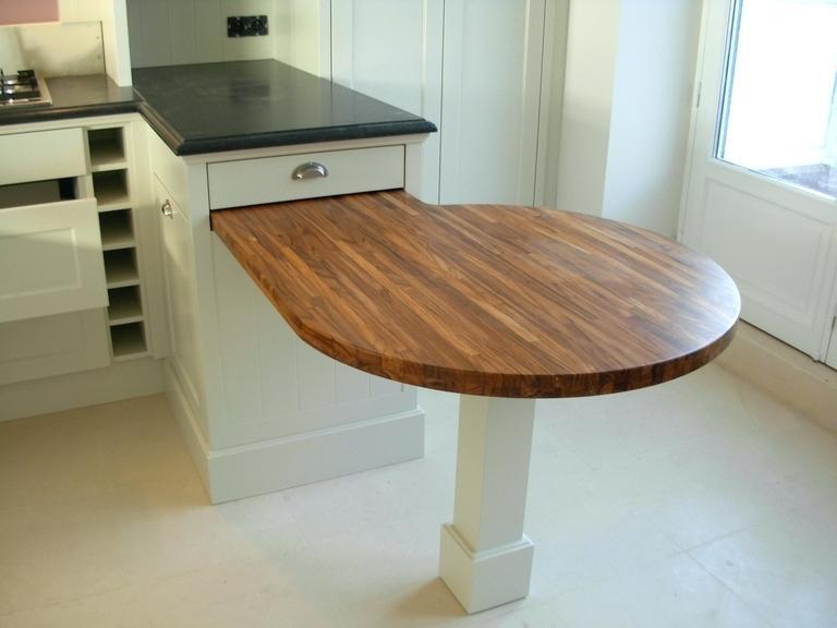 table haute cuisine amovible - Table Amovible Cuisine