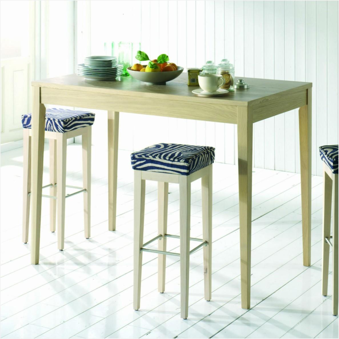 table cuisine haute avec tabouret. Black Bedroom Furniture Sets. Home Design Ideas