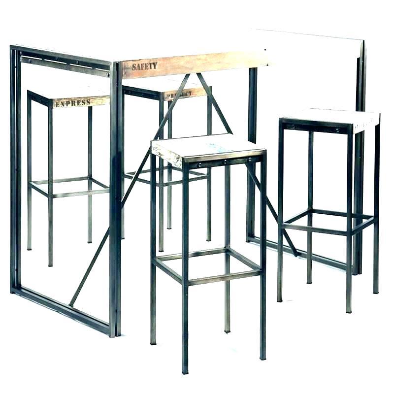 Table haute cuisine metal