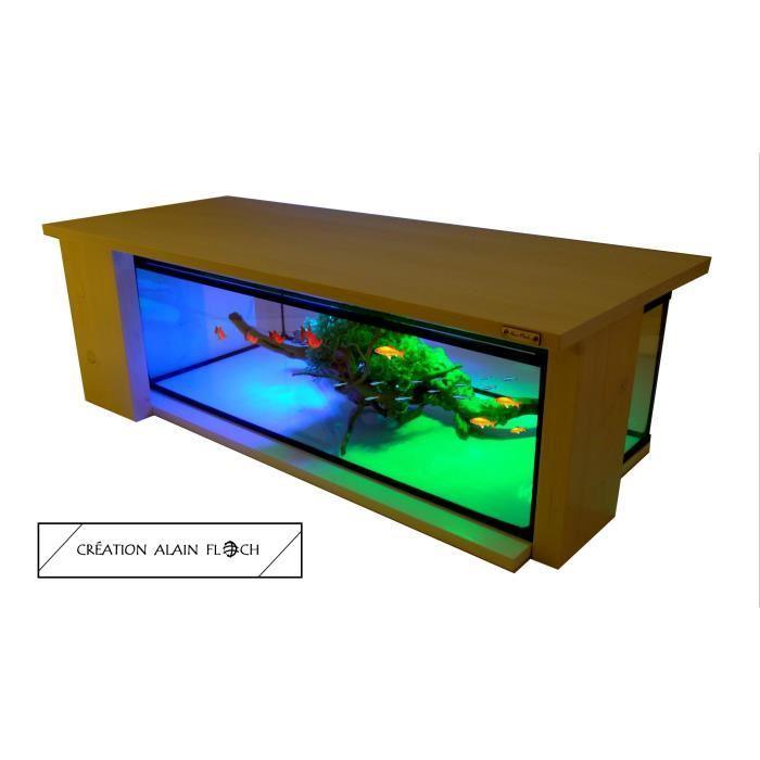 table basse designe avec aquarium. Black Bedroom Furniture Sets. Home Design Ideas