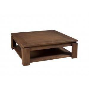 Table basse carrée bois but