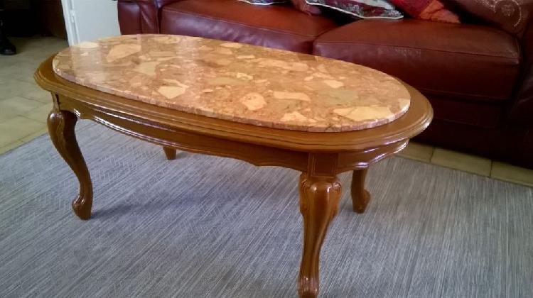 table basse avec pouf weng. Black Bedroom Furniture Sets. Home Design Ideas