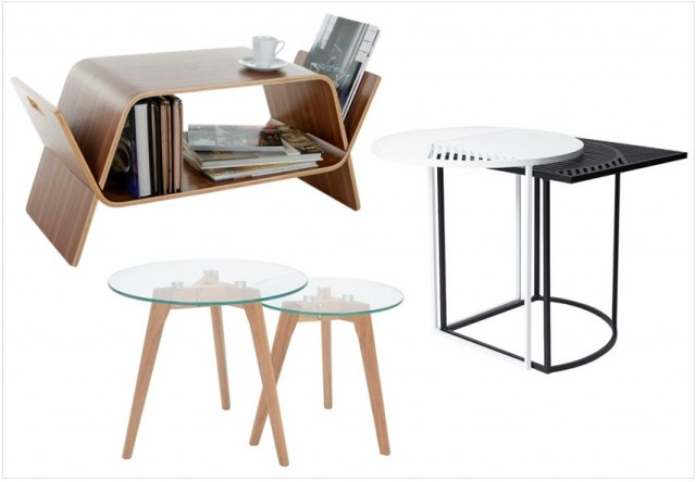 Table basse gain de place