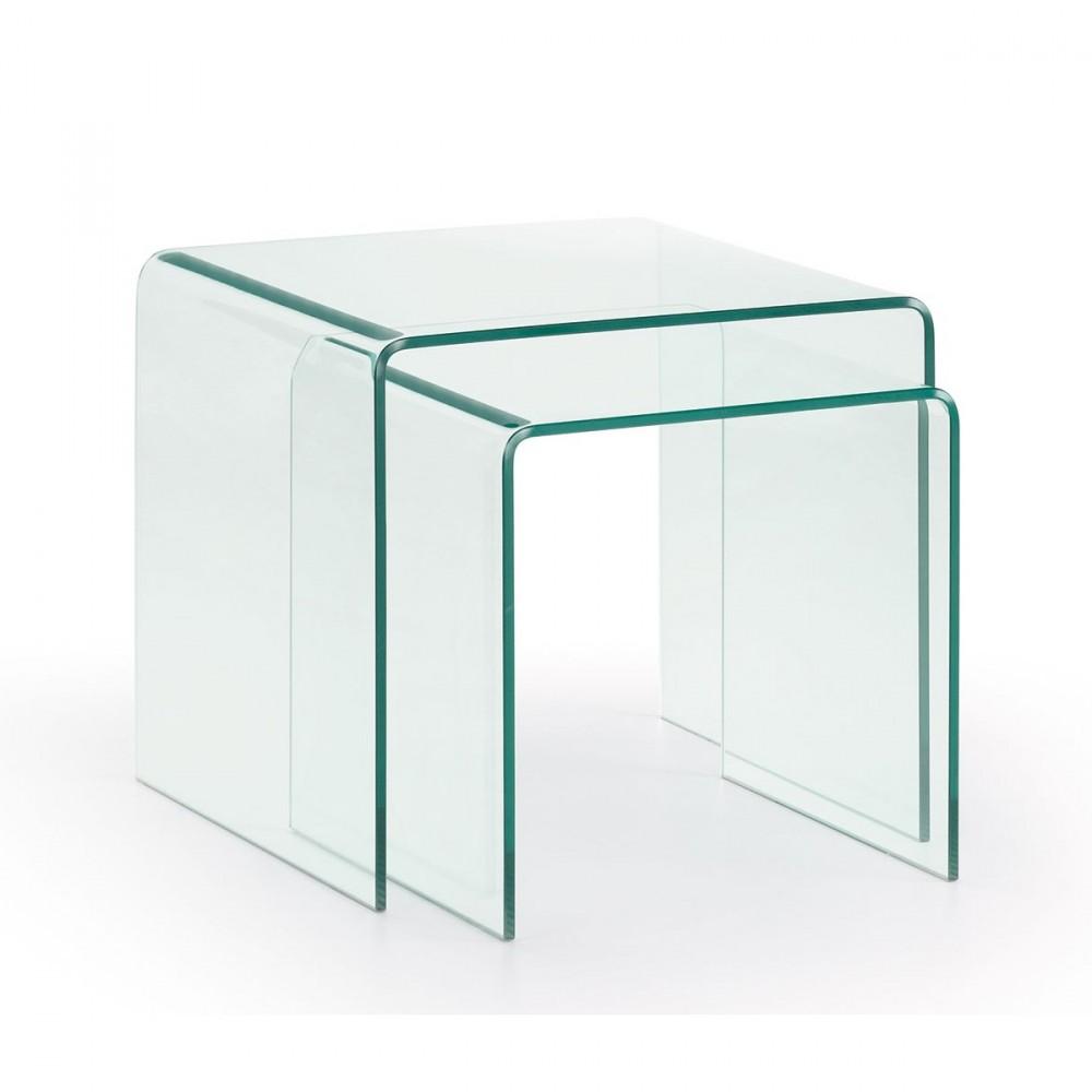 table basse gigogne en plexiglas. Black Bedroom Furniture Sets. Home Design Ideas