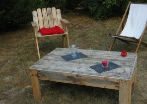 Table basse jardin palette - tendancesdesign.fr