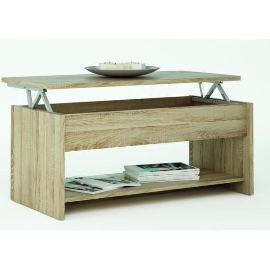 Table basse relevable trabendo