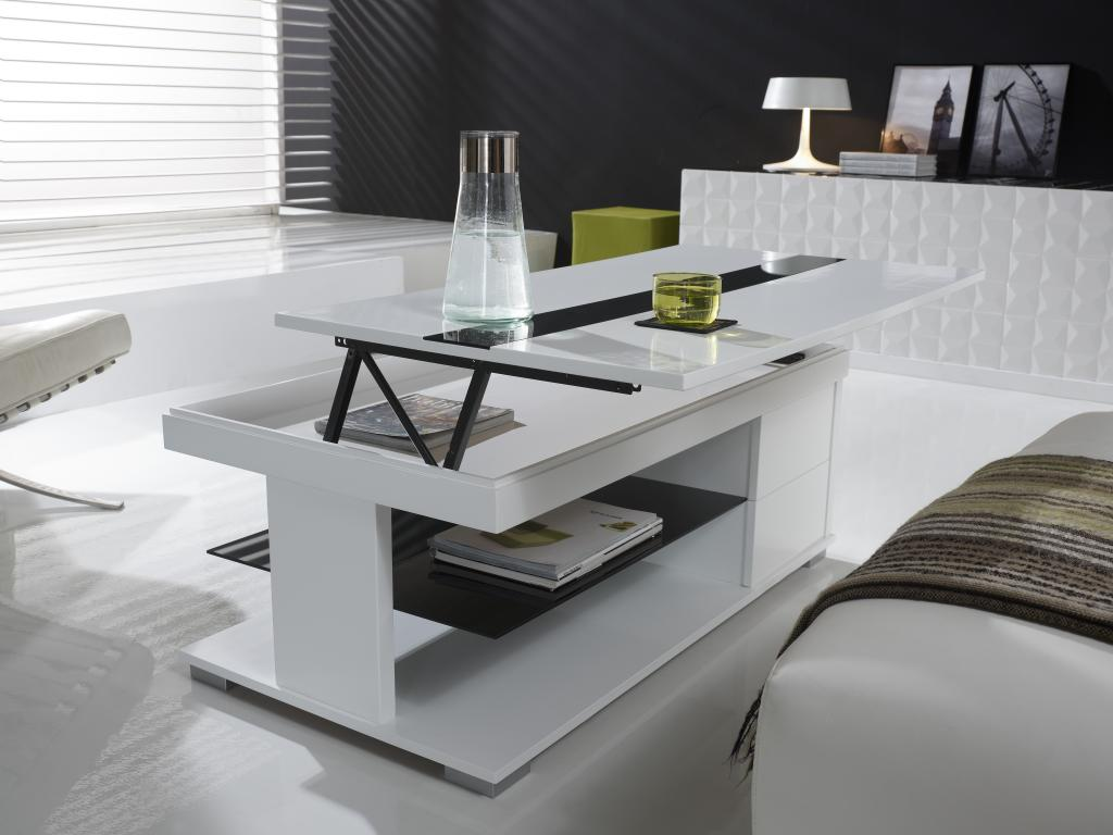 Table basse relevable intelligente