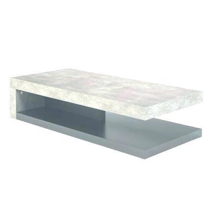 Table basse taupe alinea