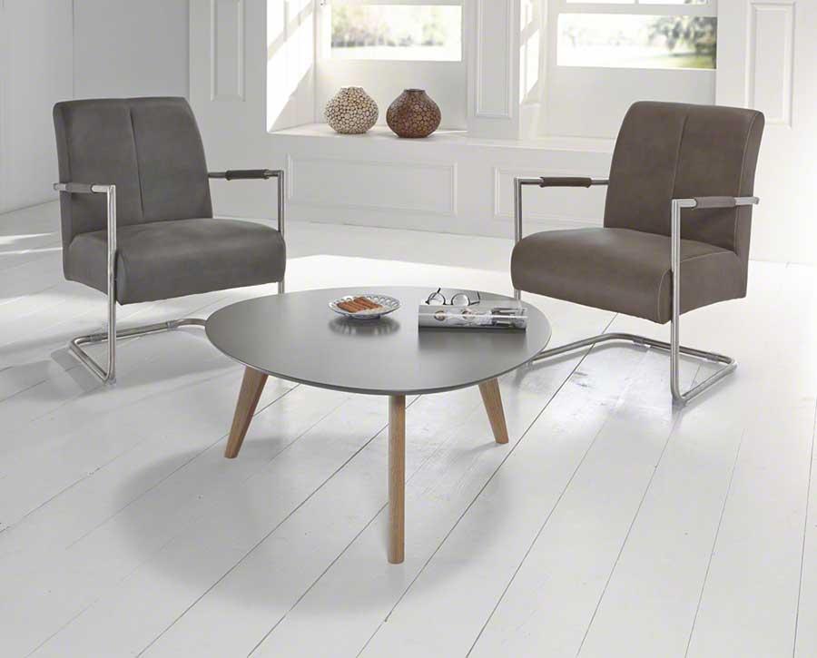 Table basse en bois style scandinave