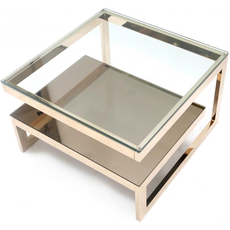 Table basse vintage en metal