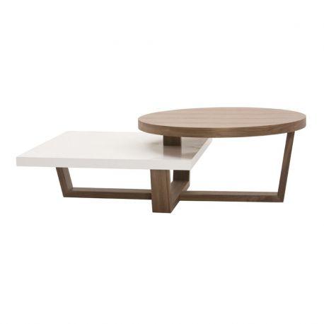 Table basse usine design
