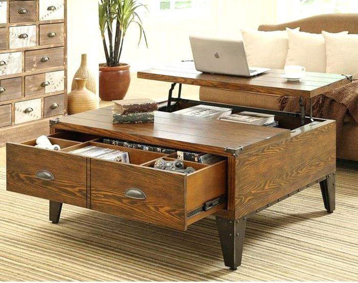table basse salon avec rangement bouteilles. Black Bedroom Furniture Sets. Home Design Ideas