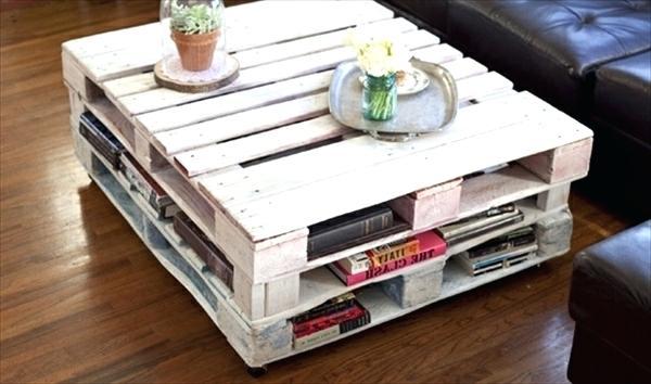 Faire une table basse avec une palette en bois