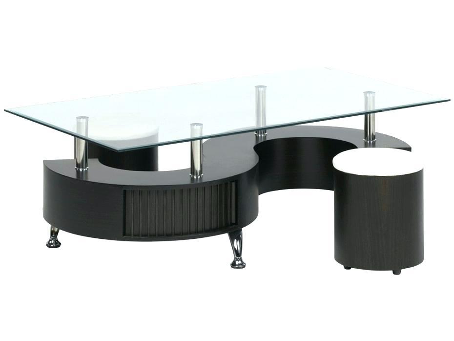 table basse avec poufs en verre. Black Bedroom Furniture Sets. Home Design Ideas