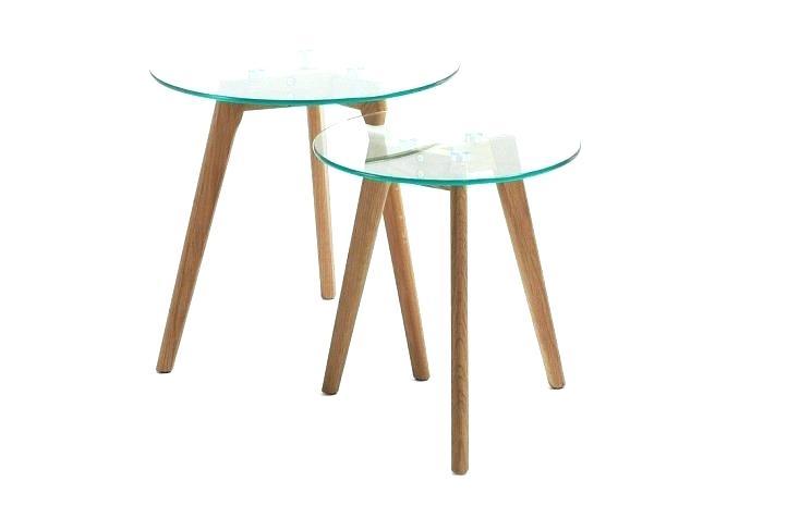 Table Basse En Verre Gigogne Pas Cher Tendancesdesignfr