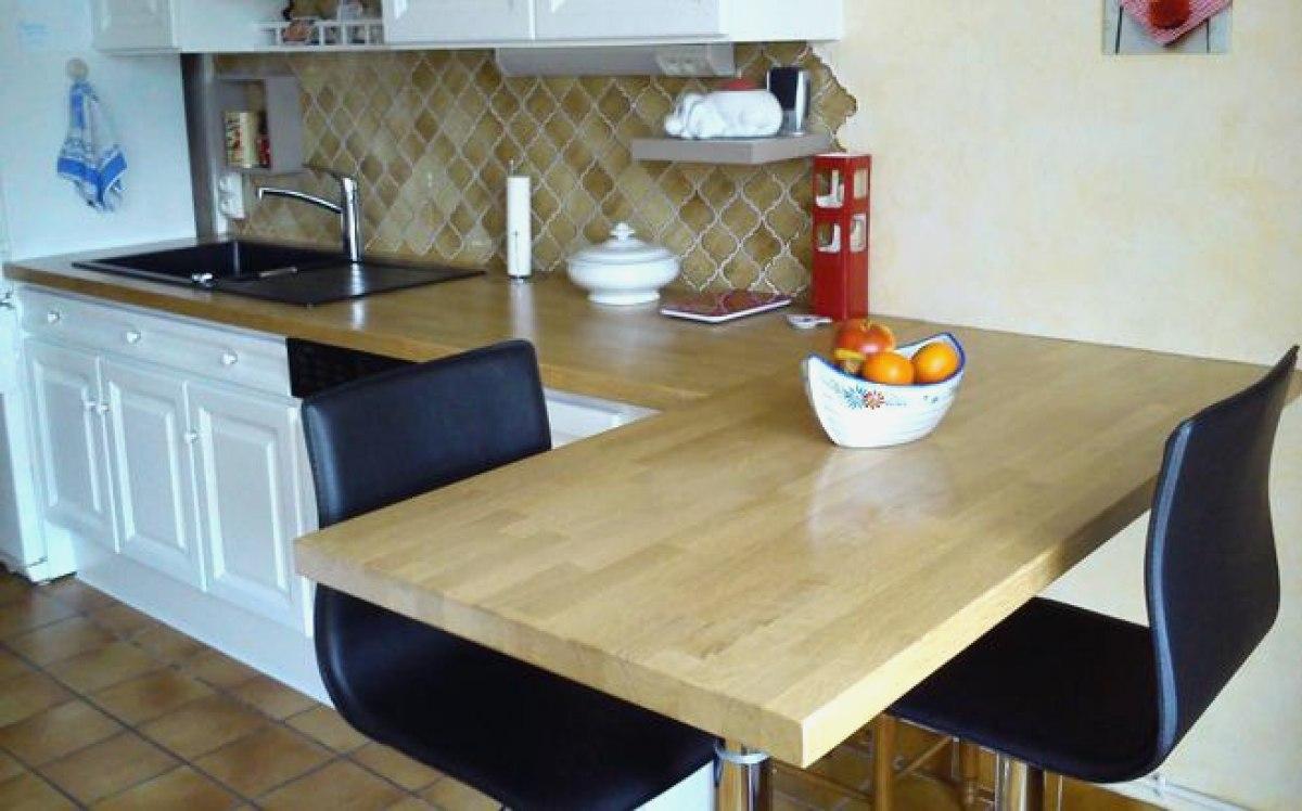 Entretien table de cuisine en bois