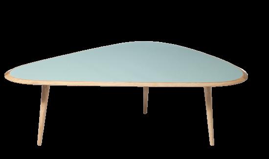 Table basse vintage couleur