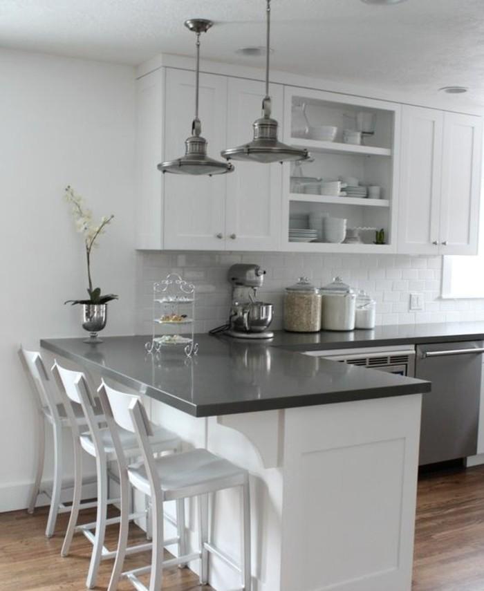 Idée peinture pour cuisine blanche